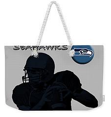 Seattle Seahawks Football Weekender Tote Bag