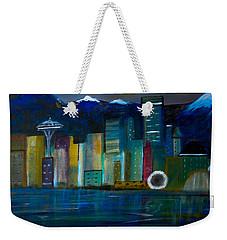 Seattle Skyiline Weekender Tote Bag