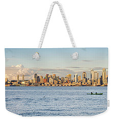 Seattle Skyline 2 Weekender Tote Bag
