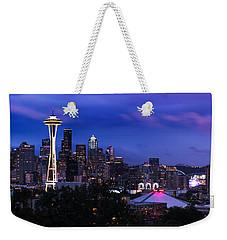 Seattle Skyline 5 Weekender Tote Bag