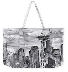 Seattle Skyline Space Needle Weekender Tote Bag