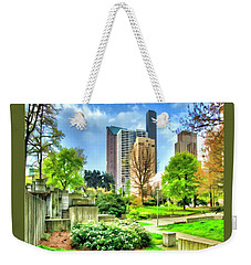 Seattle Spring Fine Art Print Weekender Tote Bag by Greg Sigrist