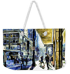 Seattle Streets #2 Weekender Tote Bag