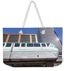 Seattle Transportation Weekender Tote Bag