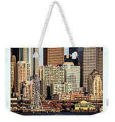 Seattle Waterfront Weekender Tote Bag
