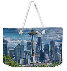 Seattle's Urban Landscape Weekender Tote Bag