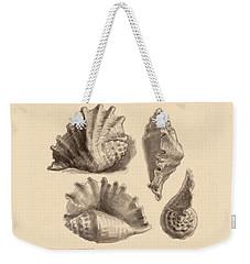 Seba's Spider Conch Weekender Tote Bag