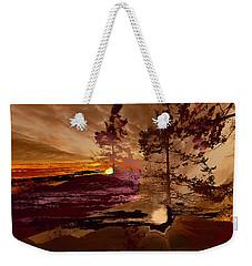 Sechelt Tree 4 Weekender Tote Bag