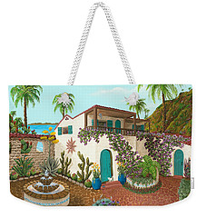 Secluded Paradise Weekender Tote Bag
