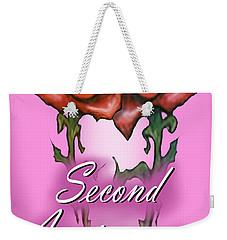 Second Anniversary Weekender Tote Bag