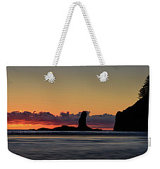 Second Beach Silhouettes Weekender Tote Bag