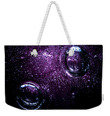 Weekender Tote Bag featuring the photograph Second by Eric Christopher Jackson