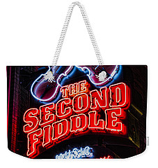 Second Fiddle Weekender Tote Bag by Stephen Stookey