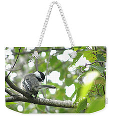 Weekender Tote Bag featuring the photograph Second Glance by Angie Rea