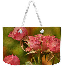 Second Hand Roses Weekender Tote Bag