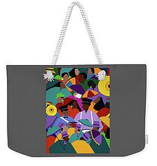 Second Line New Orleans Weekender Tote Bag