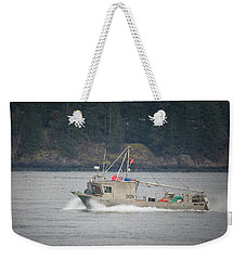 Weekender Tote Bag featuring the photograph Second Wind by Randy Hall