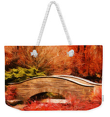 Secret Footbridge Weekender Tote Bag