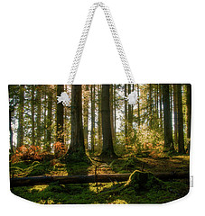 Weekender Tote Bag featuring the photograph Secret Forest by Geoff Smith