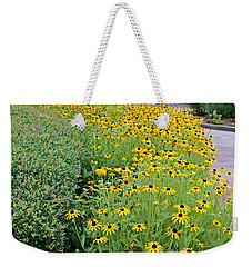 Weekender Tote Bag featuring the photograph Secret Garden by Judy Vincent