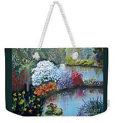 Secret Garden Weekender Tote Bag by Phyllis Kaltenbach