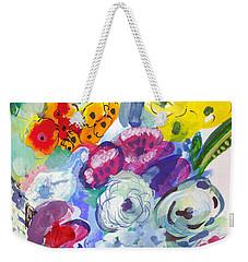 Secret Garden With Wild Flowers Weekender Tote Bag