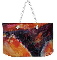 Weekender Tote Bag featuring the painting Secret Hideaway by Kathy Braud