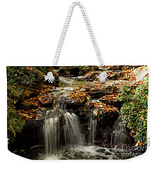 Weekender Tote Bag featuring the photograph Secret Spot by Iris Greenwell