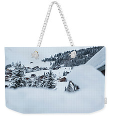Weekender Tote Bag featuring the photograph Secret View- by JD Mims