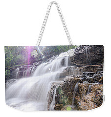 Weekender Tote Bag featuring the photograph Secret Waters Flow by Margaret Pitcher