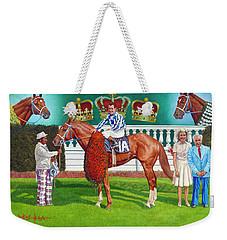Secretariat Weekender Tote Bag