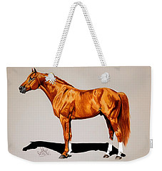 Secretariat - Triple Crown Winner By 31 Lengths Weekender Tote Bag