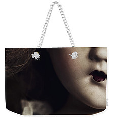 Weekender Tote Bag featuring the photograph Secrets by Amy Weiss
