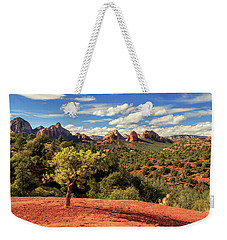 Weekender Tote Bag featuring the photograph Sedona Afternoon by James Eddy