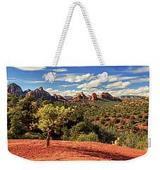 Sedona Afternoon Weekender Tote Bag by James Eddy