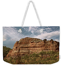 Weekender Tote Bag featuring the photograph Sedona Arizona by Anne Rodkin