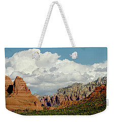 Weekender Tote Bag featuring the photograph Sedona Arizona by Bill Gallagher