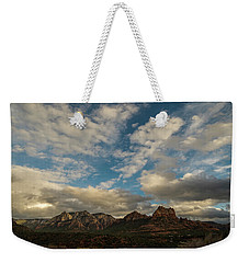 Sedona Arizona Redrock Country Landscape Fx1 Weekender Tote Bag by David Haskett