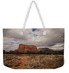 Sedona National Park Arizona Red Rock 2 Weekender Tote Bag by David Haskett