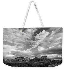 Sedona Red Rock Country Bnw Arizona Landscape 0986 Weekender Tote Bag by David Haskett