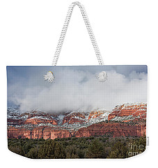Weekender Tote Bag featuring the photograph Sedona Revealed by Sandra Bronstein