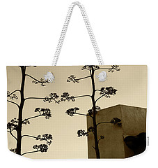 Sedona Series - Desert City Weekender Tote Bag by Ben and Raisa Gertsberg