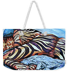 Seduction Of Stripes Weekender Tote Bag