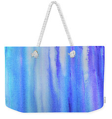 See Blue Sea Weekender Tote Bag by Cyrionna The Cyerial Artist