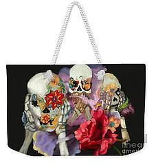 See No, Hear No, Speak No Weekender Tote Bag