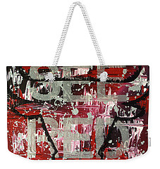 See Red Chicago Bulls Weekender Tote Bag by Melissa Goodrich