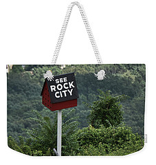 See Rock City Weekender Tote Bag