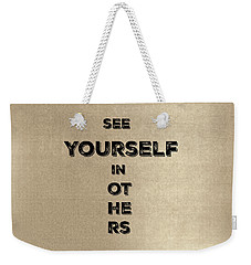 See Yourself #1 Weekender Tote Bag