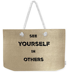 See Yourself #2 Weekender Tote Bag