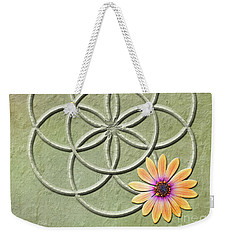 Seed Of Life Weekender Tote Bag